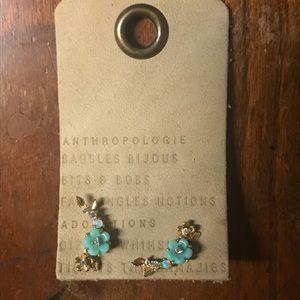 NWT Anthropologie Flower Opal Mini Crawlers
